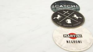 beer brand coasters