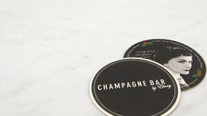 personalised bar coasters